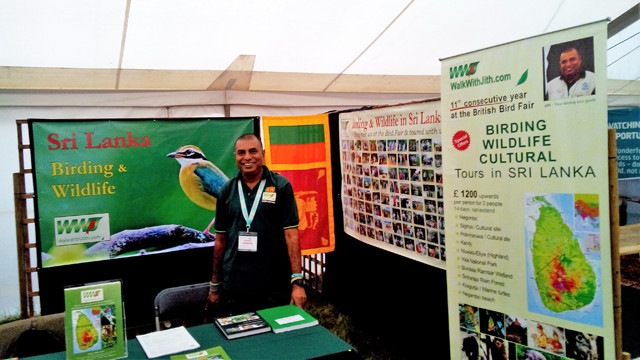 Prasanjith Jith at the Walk With Jith Stand Bird Fair 2016